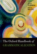 Cover for The Oxford Handbook of Grammaticalization