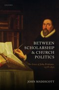 Cover for Between Scholarship and Church Politics