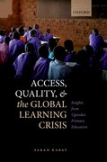 Cover for Access, Quality, and the Global Learning Crisis
