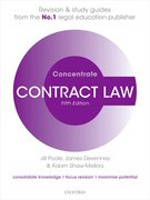 Cover for Contract Law Concentrate