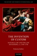 Cover for The Invention of Custom