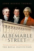 Cover for Albemarle Street: Portraits, Personalities and Presentations at The Royal Institution