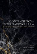 Cover for Contingency in International Law