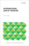 Cover for International Law of Taxation