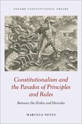 Cover for Constitutionalism and the Paradox of Principles and Rules