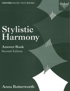 Cover for Stylistic Harmony Answer Book