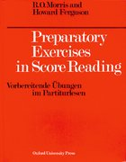 Cover for Preparatory Exercises in Score Reading
