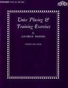 Cover for Voice placing and training exercises