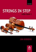 Cover for Strings in Step Cello Book 1 (Book and CD)
