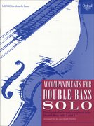 Cover for Accompaniments for Double Bass Solo