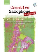 Cover for Creative Saxophone Workbook + CD