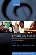 Cover for Thinking and Making