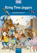 Cover for String Time Joggers Violin book + CD