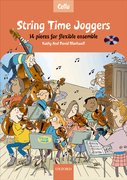 Cover for String Time Joggers Cello book + CD