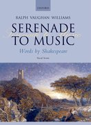 Cover for Serenade to Music - 9780193360020
