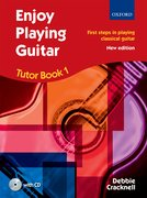 Cover for Enjoy Playing Guitar Tutor Book 1 + CD