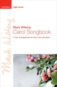 Cover for Carol Songbook: High voice