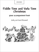 Cover for Fiddle Time and Viola Time Christmas: Piano Book