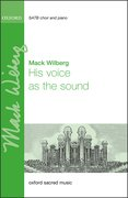 Cover for His voice as the sound