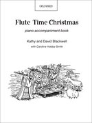 Cover for Flute Time Christmas: Piano Book