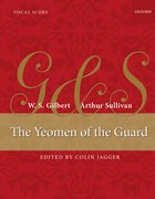 Cover for The Yeomen of the Guard - 9780193389205