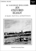 Cover for An Oxford Elegy