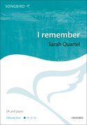 Cover for I remember