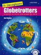 Cover for Saxophone Globetrotters, B flat edition + CD