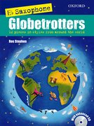 Cover for Saxophone Globetrotters, E flat edition + CD