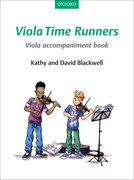 Cover for Viola Time Runners Viola Accompaniment Book