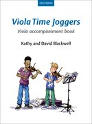 Cover for Viola Time Joggers Viola Accompaniment Book