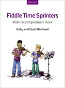 Cover for Fiddle Time Sprinters Violin Accompaniment Book