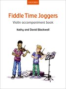 Cover for Fiddle Time Joggers Violin Accompaniment Book - 9780193398610