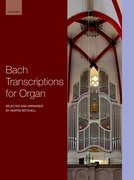 Cover for Bach Transcriptions for Organ