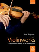 Cover for Violinworks Book 2 + CD
