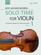 Cover for Solo Time for Violin Book 1 + CD