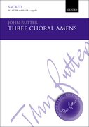 Cover for Three Choral Amens
