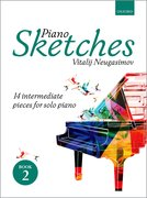 Cover for Piano Sketches Book 2 - 9780193413283