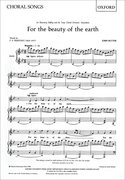 Cover for For the beauty of the earth