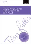 Cover for Lord, make me an instrument of thy peace