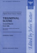 Cover for Triumphal Scene (Grand March) from <i>Aida</i>