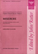 Cover for Miserere