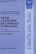 Cover for Trois Chansons de Charles d