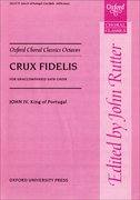 Cover for Crux fidelis