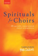 Cover for Spirituals for Choirs