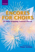 Cover for Encores for Choirs 1