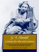 Cover for Cantatas for alto and continuo