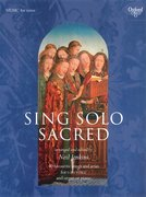 Cover for Sing Solo Sacred