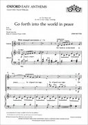 Cover for Go forth into the world in peace