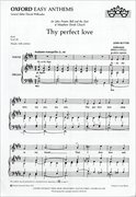 Cover for Thy perfect love